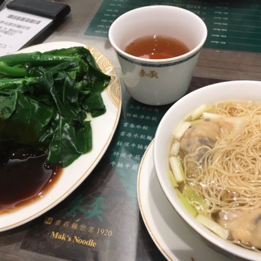 Noodles and bok choi can be found in Chinatowns across the globe
