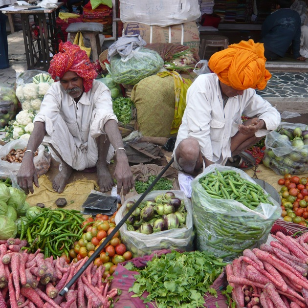 Smallholder farmers produce a huge percentage of the world's food